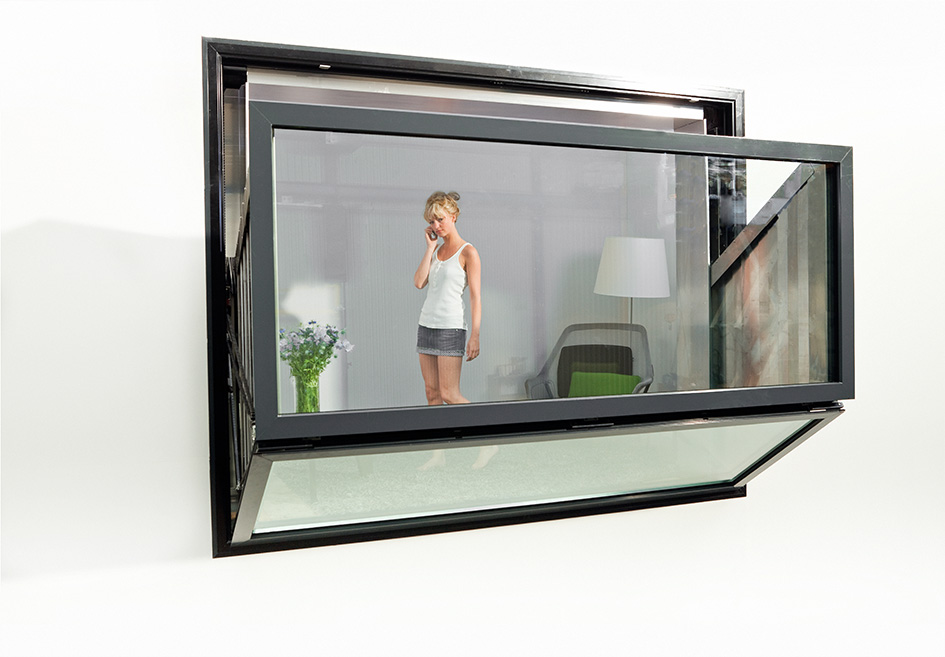 Bloomframe® window opening