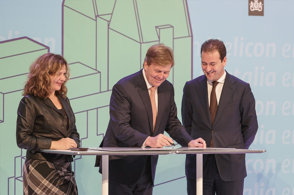 His Majesty King Willem-Alexander officially opened De Resident in The Hague