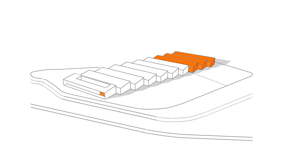 Future enlargement office and warehouse