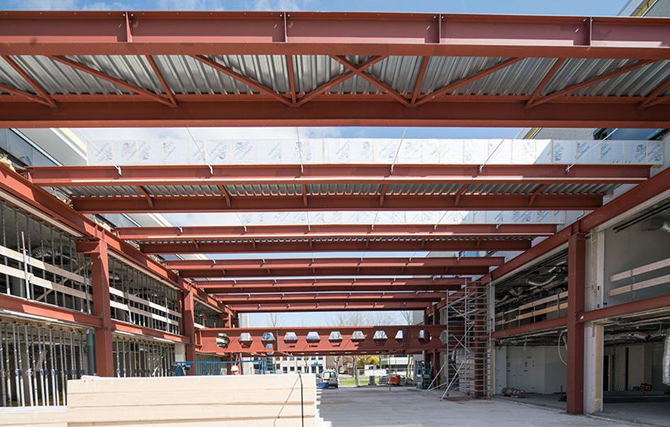 Construction atrium