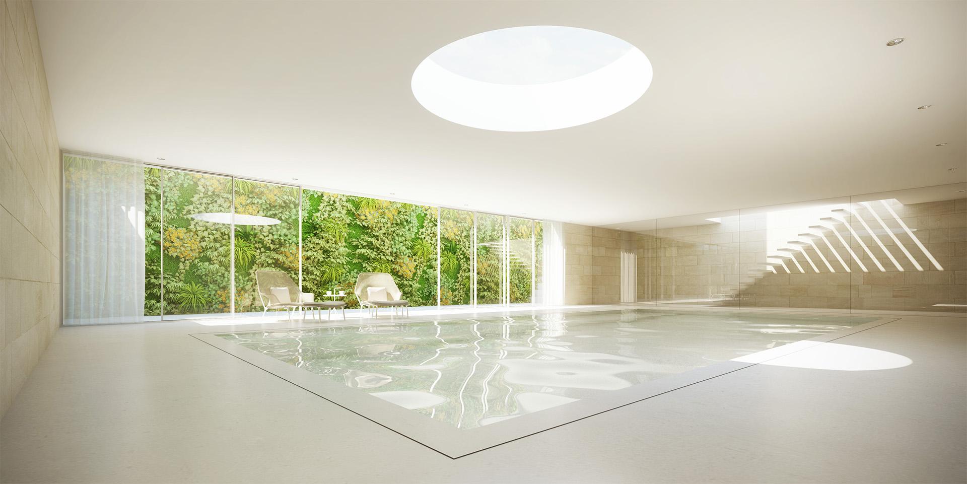 Underground swimming pool - HofmanDujardin