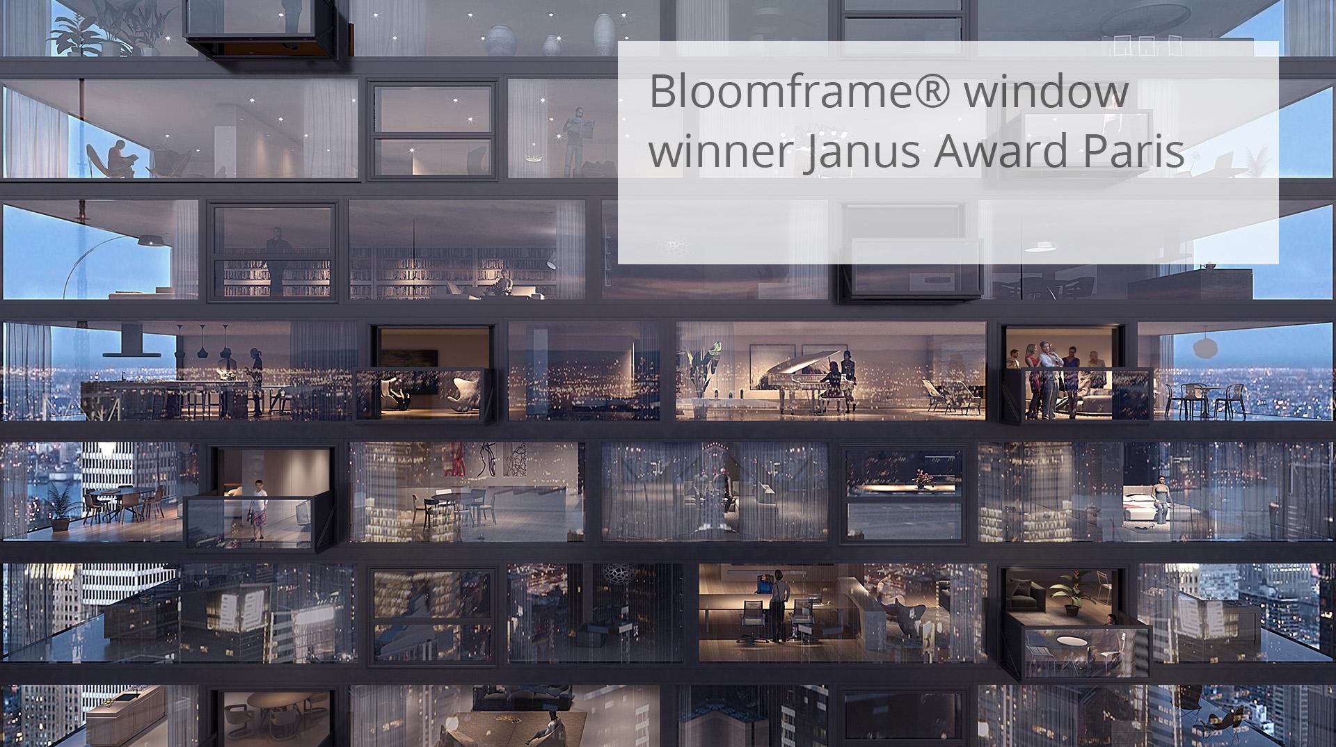 HofmanDujardin   Bloomframe® apartment building