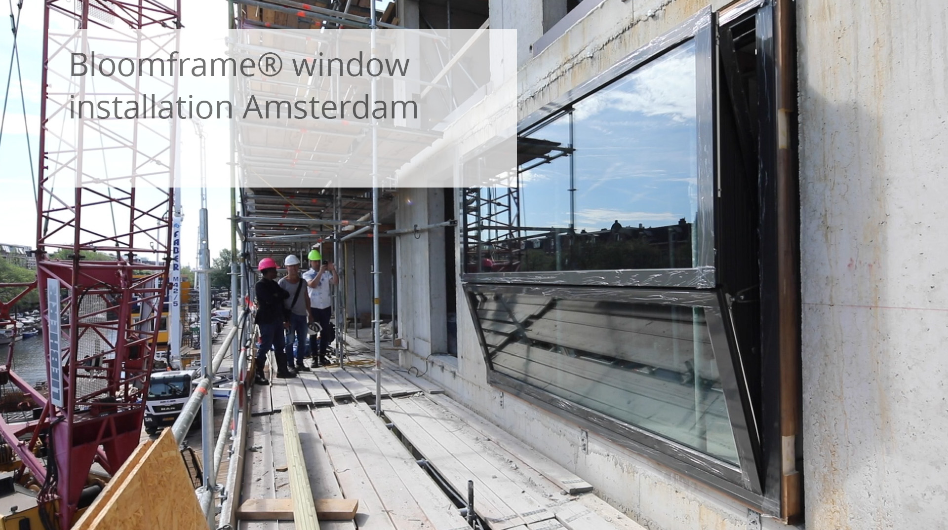 Bloomframe® window installation