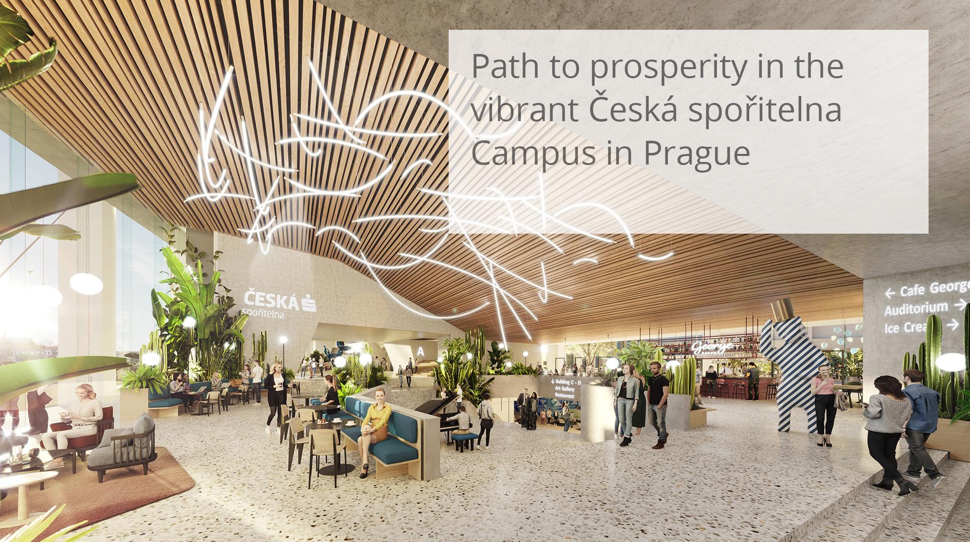 Česká spořitelna Campus Prague