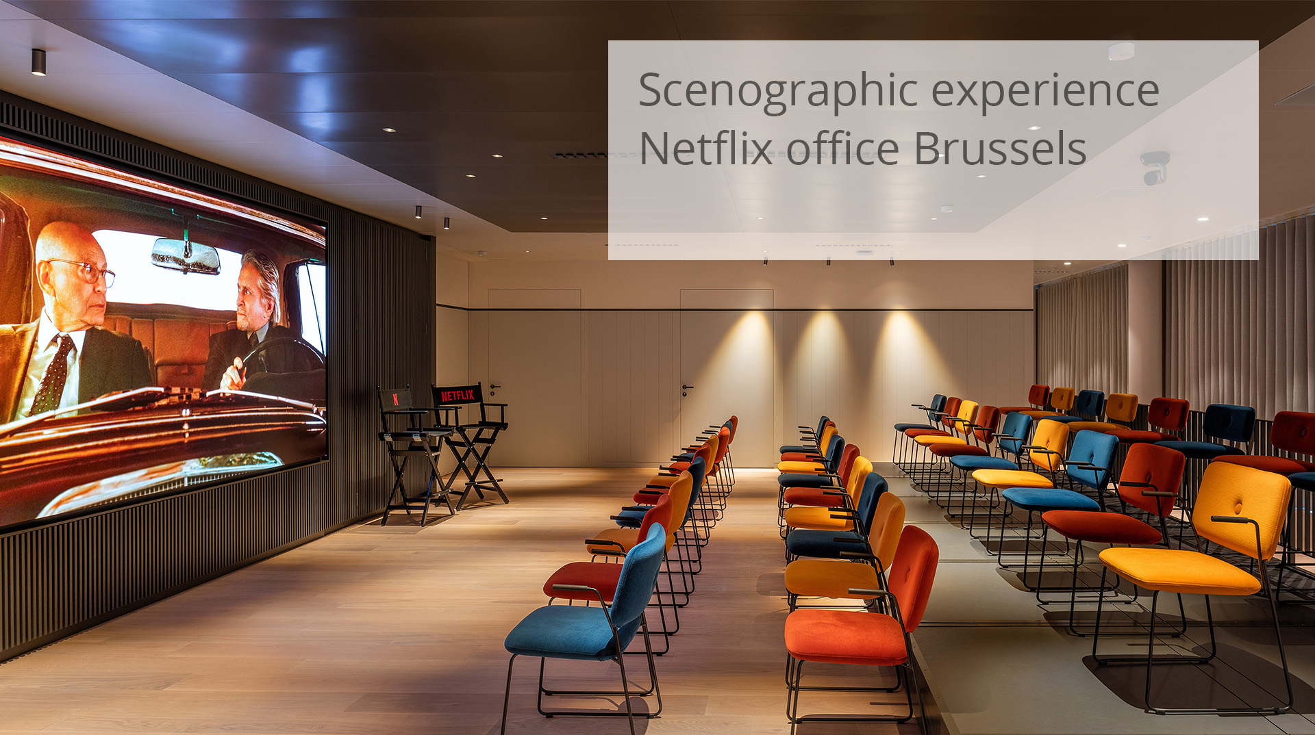 HofmanDujardin Netflix office Brussels
