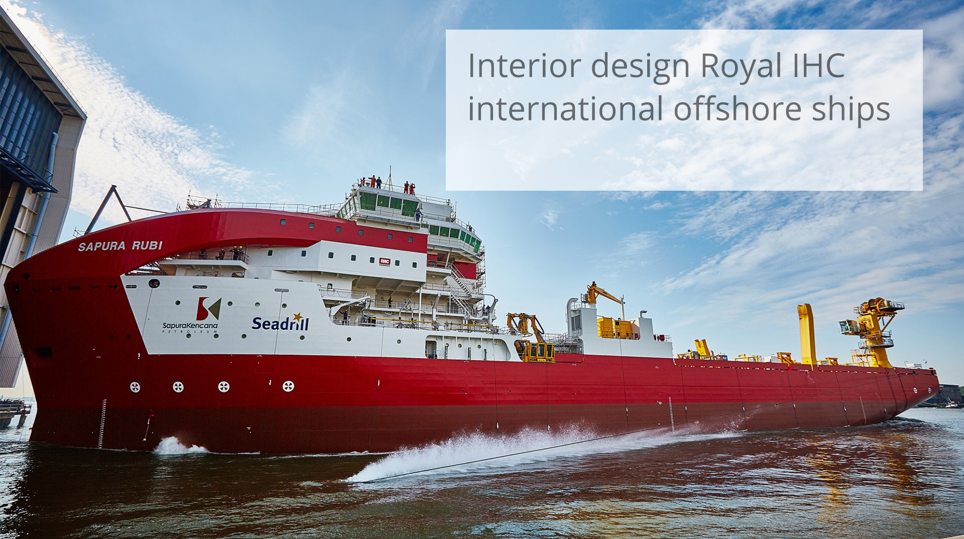 HofmanDujardin Royal IHC offshore design